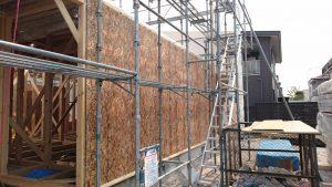 清田区M様邸 1階構造用合板
