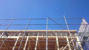 東区K様邸 構造用合板1
