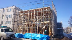 東区K様邸 構造用合板2