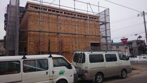 東区K様邸 構造用合板3