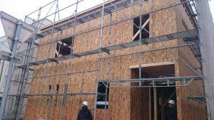東区K様邸 構造用合板4