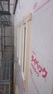 東区K様邸 外壁下地1