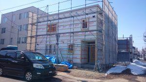 東区K様邸 外壁工事1