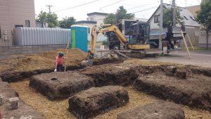 東区 O 様邸 根掘り2