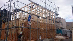東区 O 様邸 構造用合板1