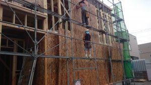 東区 O 様邸 2階構造用合板1
