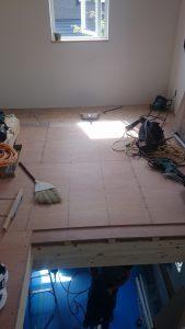 白石区リフォーム 床下地2